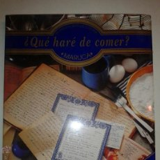 Libros de segunda mano: QUÉ HARÉ DE COMER COCINA TRADICIONAL MEXICANA 2000 MARUCA EDITORIAL LIMUSA . Lote 50721108