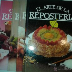 Libros de segunda mano: EL ARTE DE LA REPOSTERÍA VOLUMEN 1 AL 4 COMPLETA 2002 MARÍA DOLORES CAMPS CARDONA 1º EDICIÓN NAUTA. Lote 50809042