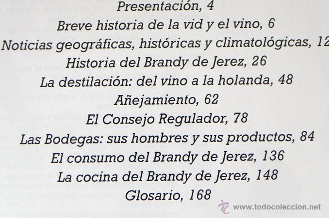 Libros de segunda mano: LIBRO EL BRANDY DE JEREZ HISTORIA VID Y VINO CÁDIZ ANDALUCÍA BODEGAS COCINA ETC BEBIDA MUY ILUSTRADO - Foto 2 - 50956881