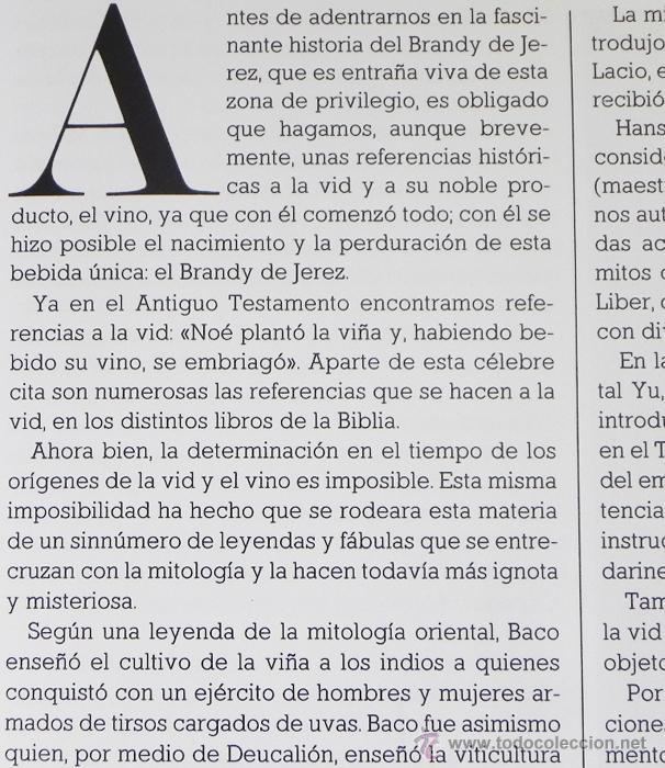 Libros de segunda mano: LIBRO EL BRANDY DE JEREZ HISTORIA VID Y VINO CÁDIZ ANDALUCÍA BODEGAS COCINA ETC BEBIDA MUY ILUSTRADO - Foto 3 - 50956881