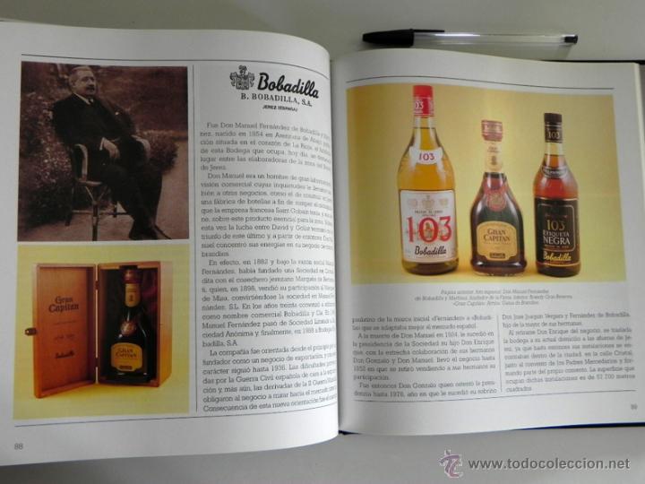 Libros de segunda mano: LIBRO EL BRANDY DE JEREZ HISTORIA VID Y VINO CÁDIZ ANDALUCÍA BODEGAS COCINA ETC BEBIDA MUY ILUSTRADO - Foto 10 - 50956881
