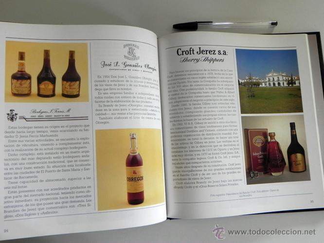 Libros de segunda mano: LIBRO EL BRANDY DE JEREZ HISTORIA VID Y VINO CÁDIZ ANDALUCÍA BODEGAS COCINA ETC BEBIDA MUY ILUSTRADO - Foto 11 - 50956881