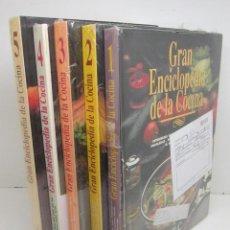 Libros de segunda mano: GRAN ENCICLOPEDIA DE LA COCINA - ABC - 5 TOMOS,COMPLETA,NUEVA,TOMOS AÚN PLASTIFICADOS. Lote 51012101
