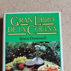 Libros de segunda mano: GRAN LIBRO DE LA COCINA. DOMÈNECH (IGNASI) BARCELONA, BRUGUERA, 1979.. Lote 51358791
