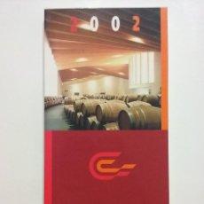 Libros de segunda mano: GUÍA CAMPSA DE LOS MEJORES VINOS DE ESPAÑA. 2002 - VINO. Lote 51471227