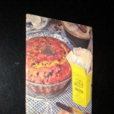 Libros de segunda mano: 108 RECETAS CULINARIAS DE FAMA MUNDIAL. MAIZENA DURYEA. 1951. Lote 51538309