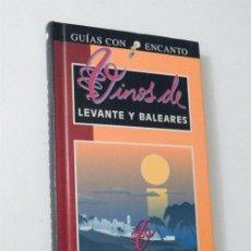 Libros de segunda mano: VINOS DE LEVANTE Y BALEARES / GUIAS CON ENCANTO / EL PAIS - AGUILAR / ILUSTRADO / VINO / BODEGAS. Lote 51735315