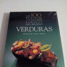 Libros de segunda mano: LAS 100 RECETAS DE COCINA MÁS FAMOSAS DEL MUNDO. VERDURAS. CHRISTIAN TEUBNER.. Lote 51753677