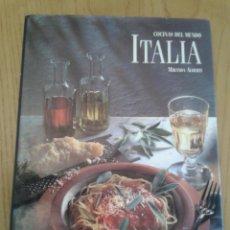 Libros de segunda mano: COCINAS DEL MUNDO -ITALIA- MIRANDA ALBERTI - EDITORIAL EVEREST 1996 - EN CASTELLANO. Lote 51956552