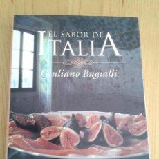Libros de segunda mano: EL SABOR DE ITALIA - GIULIANO BUGIALLI - LIMUSA ( NORIEGA EDITORES) 1994 1ª EDICIÓN -EN CASTELLANO. Lote 51970049