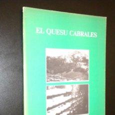 Libros de segunda mano: EL QUESU CABRALES / MARIA ADORACION ABELLA GARCIA. Lote 52162109