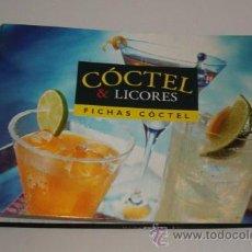 Libros de segunda mano: CÓCTEL & LICORES. FICHAS CÓCTEL. RM71663. . Lote 52303249