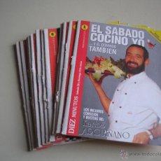 Libros de segunda mano: KARLOS ARGUIÑANO - EL SÁBADO COCINO YO... Y EL DOMINGO TAMBIÉN - 15 NÚMEROS (FICHAS COLECCIONABLES). Lote 52439612