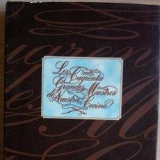 Libros de segunda mano: LOS 40 GRANDES MAESTROS DE NUESTRA COCINA - JUANJO MEDIOROZ. Lote 52456044