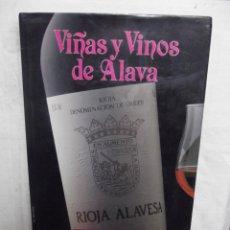 Libros de segunda mano: VIÑAS Y VINOS DE ALAVA POR MIGUEL GOZALEZ LARRAINA . Lote 52635515