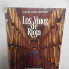 Libros de segunda mano: LOS VINOS DE RIOJA POR MANUEL LANO GOROSTIZA. Lote 52635936