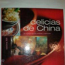 Libros de segunda mano: DELICIAS DE CHINA 78 RECETAS CHINAS SIMPLES Y SABROSAS 2000 ELISA VERGNE ED. SALVAT COCINA XXI. Lote 52640387