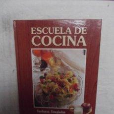 Escuela de cocina verduras ensaladas y dietas comprar libros de cocina y gastronom a en - Libro escuela de cocina ...