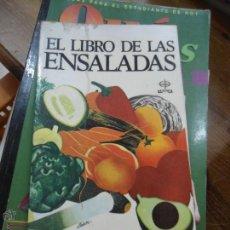 Libros de segunda mano: LIBRO EL LIBRO DE LAS ENSALADAS JOAN LAY 1991 ED. EDAF L-10284. Lote 52939836