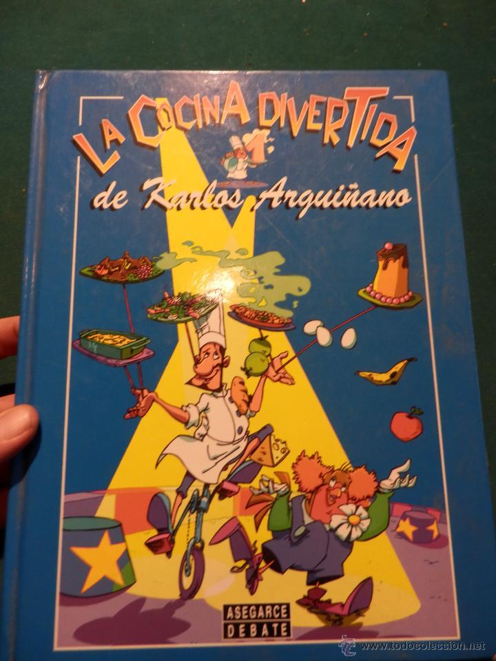 La Cocina Divertida   La Cocina Divertida De Karlos Arguinano Comic Comprar Libros