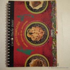 Libros de segunda mano: CON MUCHO GUSTO. MENÚS COMPLETOS DE MARÍA JESÚS GIL DE ANTUÑANO - EL PAÍS-AGUILAR - 1995. Lote 53228326