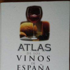 Libros de segunda mano: ATLAS DE LOS VINOS DE ESPAÑA. JOSÉ PEÑÍN. . Lote 53297582