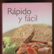 Libros de segunda mano: RÁPIDO Y FÁCIL COLECCIÓN DE 240 DELICIOSAS RECETAS EDIT.PARRAGÓN 512 PAGINAS BARCELONA 2004 LE748. Lote 53459546