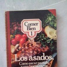 Libros de segunda mano - COMER BIEN 200 recetas practicas y sabrosas. Tomo 1, Los asados. 1977 - 53475056