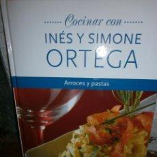 Libros de segunda mano: COCINAR CON INES Y SIMONE ORTEGA ARROCES Y PASTAS. Lote 53495408
