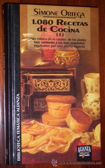 Libros de segunda mano: 1080 Recetas de cocina 2T por Simone Ortega de Alianza y Ed. del Prado en Madrid 1993 - Foto 2 - 26793173