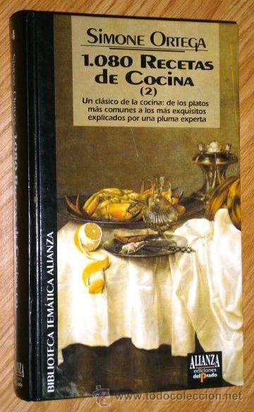 Libros de segunda mano: 1080 Recetas de cocina 2T por Simone Ortega de Alianza y Ed. del Prado en Madrid 1993 - Foto 3 - 26793173