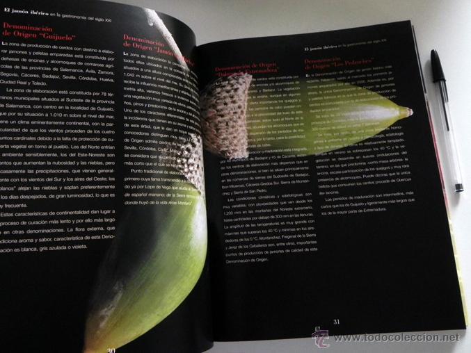 Libros de segunda mano: EL JAMÓN IBÉRICO EN LA GASTRONOMÍA DEL SIGLO XXI - LIBRO JAMONES COMIDA ESPAÑA RECETAS MANJAR CERDO - Foto 11 - 54324252