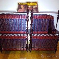 Libros de segunda mano: BIBLIOTECA DE ORO DE LA COCINA. COMPLETA. ESTANTERÍAS ORIGINALES. 1984 CLUB INTERNACIONAL DEL LIBRO. Lote 54488371
