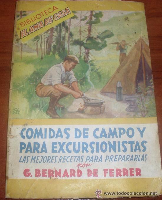BIBLIOTECA EL AMA DE CASA - N 31 COMIDAS DE CAMPO Y PARA EXCURSIONISTAS -- (REF-HAMIMU1CEES1) (Libros de Segunda Mano - Cocina y Gastronomía)