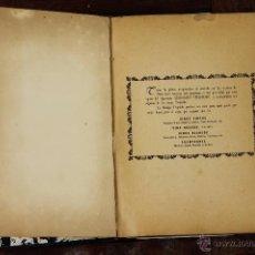 Libros de segunda mano: 6173 - EL ARTE DE LA MESA. LOLA DE PIETRANERA. IMP. GUILLERMO KRAFT.1949.. Lote 49281137