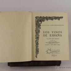 Libros de segunda mano: D-520. LOS VINOS DE ESPAÑA. JOSE DEL CASTILLO. EDIT. PROYECCION. 1971.. Lote 47779771