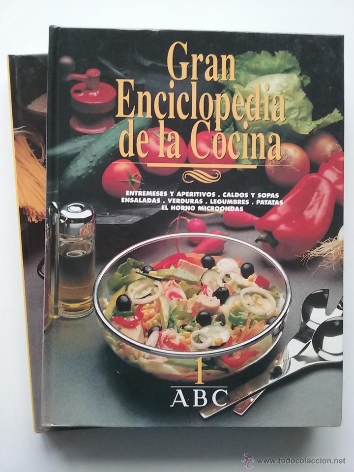 GRAN ENCICLOPEDIA DE LA COCINA - TOMOS 1 Y 2 - EDITA ABC (Libros de Segunda Mano - Cocina y Gastronomía)