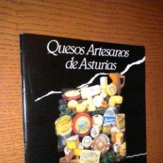 Libros de segunda mano: QUESOS ARTESANOS DE ASTURIAS. Lote 55087463