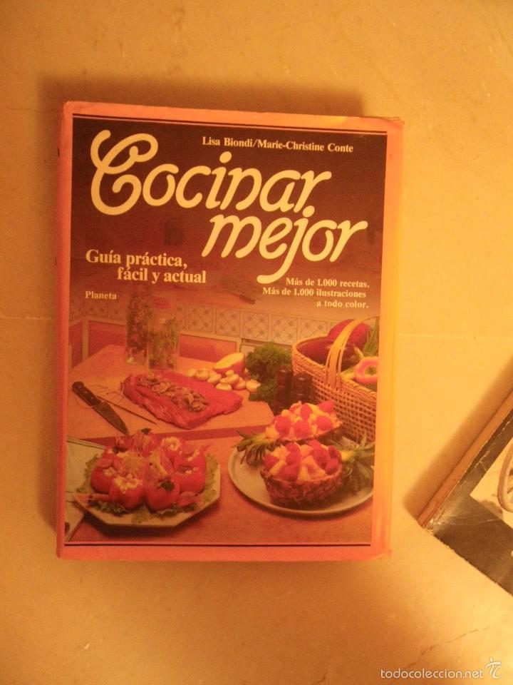 COCINAR MEJOR, ED. PLANETA (Libros de Segunda Mano - Cocina y Gastronomía)