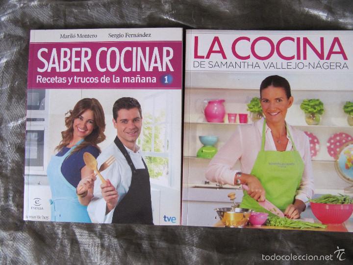 Saber Cocinar | Lote 2 Libros La Cocina De Samantha Vallejo Nag Comprar Libros