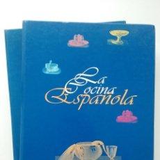 Libros de segunda mano: LA COCINA ESPAÑOLA - COLECCION COMPLETA EN DOS TOMOS - VICTOR ALPERI - LA VOZ DE ASTURIAS. Lote 56400420