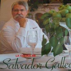 Libros de segunda mano: LA COCINA DE SALVADOR GALLEGO. MAPFRE. TAPA DURA. CON RECETAS E IMAGENES A COLOR.. Lote 56570698