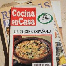 Libros de segunda mano: LIBRO COCINA EN CASA N1 18 LA COCINA ESPAÑOLA IÑIGO AZPIAZU 1991 ED. IRU L-1029-35. Lote 56817944