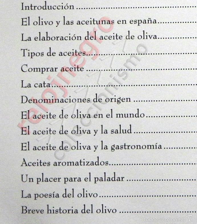 Libros de segunda mano: SABER DE ACEITE LIBRO HERRERA GASTRONOMÍA ACEITUNAS CATA SALUD RECETAS OLIVOS GUÍA ACEITES ANDALUCÍA - Foto 2 - 56905466