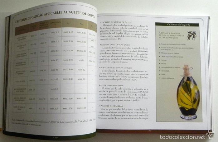 Libros de segunda mano: SABER DE ACEITE LIBRO HERRERA GASTRONOMÍA ACEITUNAS CATA SALUD RECETAS OLIVOS GUÍA ACEITES ANDALUCÍA - Foto 5 - 56905466