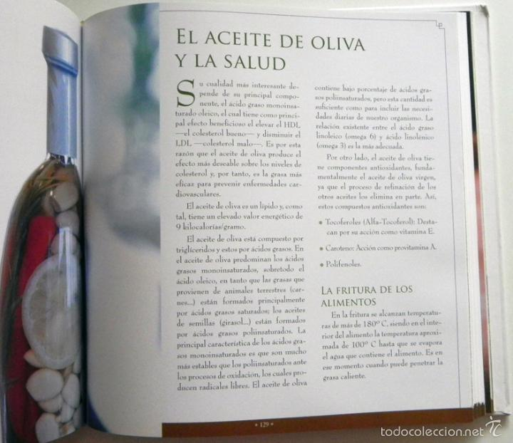 Libros de segunda mano: SABER DE ACEITE LIBRO HERRERA GASTRONOMÍA ACEITUNAS CATA SALUD RECETAS OLIVOS GUÍA ACEITES ANDALUCÍA - Foto 10 - 56905466