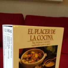 Libros de segunda mano: EL PLACER DE LA COCINA - 6 VOLUMENES EN ESTUCHE - GRIJALBO. Lote 56928711