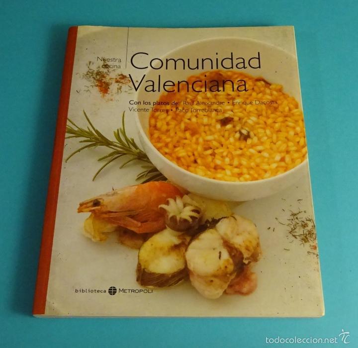 Comunidad De Cocina   Nuestra Cocina Comunidad Valenciana Comprar Libros De Cocina Y