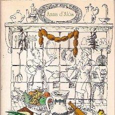 Libros de segunda mano: NUESTROS PLATOS VINOS Y QUESOS ANNA D'ALOSCARROGIO EDICIONES. Lote 57608987