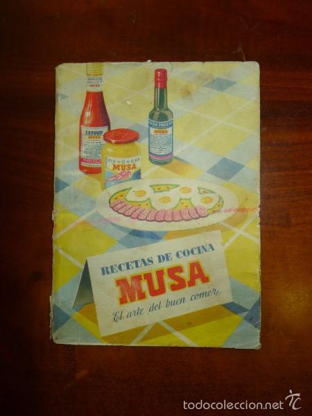 RECETAS DE COCINA MUSA : EL ARTE DEL BUEN COMER. (Libros de Segunda Mano - Cocina y Gastronomía)